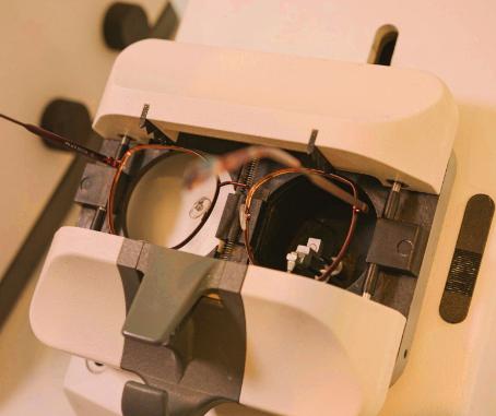 Brillenglaszentrierung mittels moderner Technologie